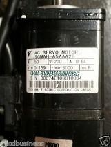 Sgmah A5 Aaa2 B Yaskawa Servo Motor 90 Days Warranty - $237.50