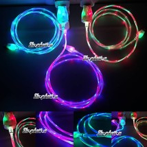 Double Color Glow in the Dark Charging Cable LED Charger for iPhone 5, 6... - $5.99+