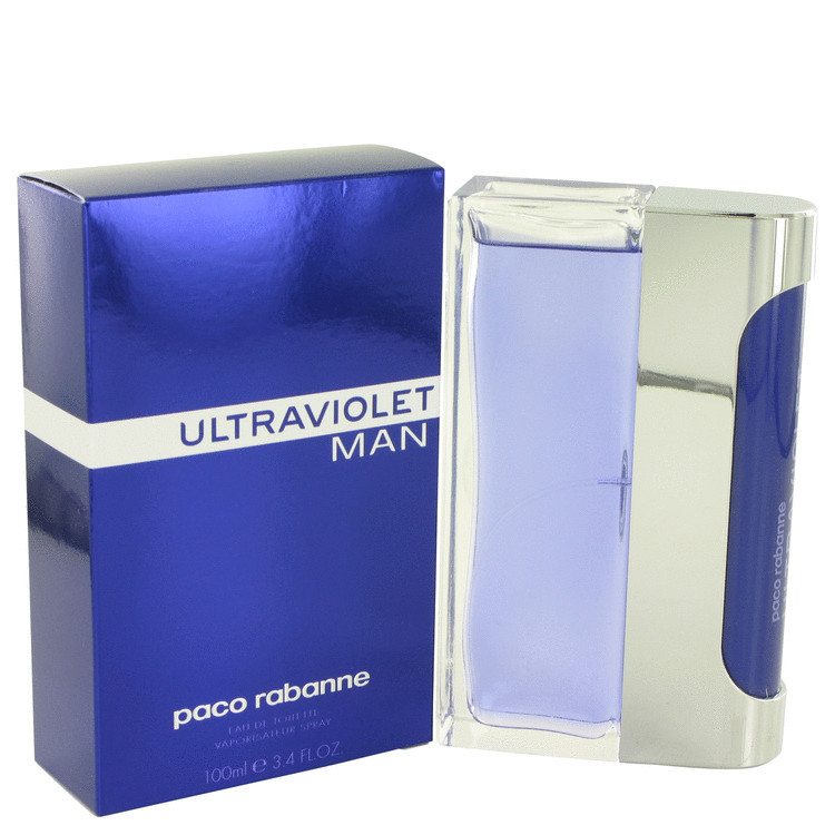 Paco Rabanne Ultraviolet Man Cologne 3.4 Oz Eau De Toilette Spray