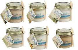 Florida Salt Scrubs Body Feet Hands Natural Salt Scrub, Sampler Pack of ... - $29.99