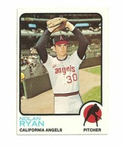 Topps #220 Nolan Ryan California Angels Baseball Card - 1973 - 1973 - $45.00