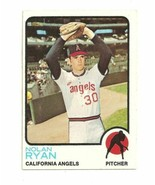 Topps #220 Nolan Ryan California Angels Baseball Card - 1973 - 1973 - $45.00