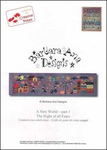 Part 1 A Night Of All Fears A New World series cross stitch Barbara Ana ... - $10.00