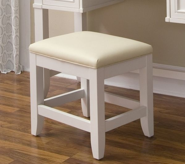 Bathroom Vanity Chair For Makeup Bench Only Stool Decor Seat Small White Padded Benches Stools