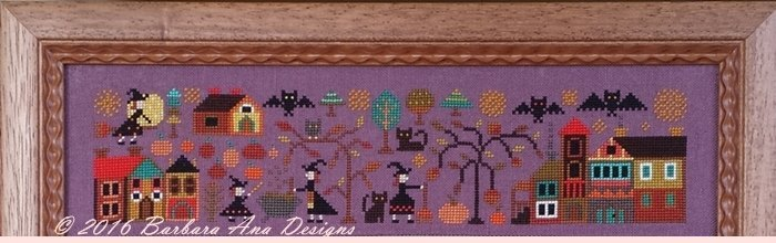 Part 1 A Night Of All Fears A New World series cross stitch Barbara Ana Designs