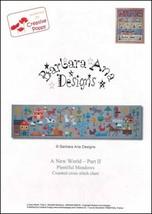 Part 2 Plentiful Meadows A New World series cross stitch Barbara Ana Des... - $10.00
