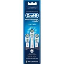 Oral-B Dual Clean Replacement Electric Toothbrush Heads, 3 count - $10.99