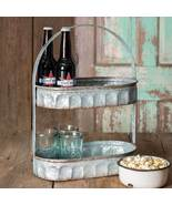 Two Tiered Corrugated Oval Tray - $39.99
