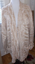 JONES NEW YORK FRONT ZIP CARDIGAN SWEATER MISSES XL NWT$89 - $19.34