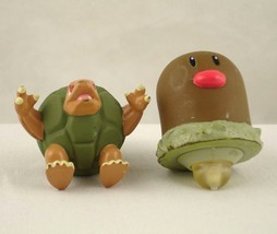 Nintendo Pokemon Action Figure Burger King Spinners Diglett Golem 1999 - $8.99