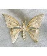 Gerry's 60s Art Moderne Rhinestone Butterfly Br... - $17.95