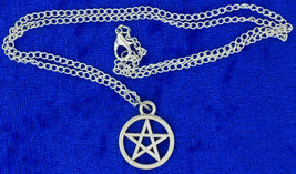 Pentagram Necklace Supernatural Chain Style Length Choice - $3.99+