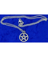Pentagram Necklace Supernatural Chain Style Len... - $3.99 - $5.49