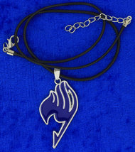 Fairy Tail Necklace or Keychain Blue Anime Cosplay Chain Style Length Ch... - $4.99+