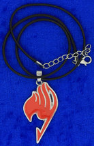 Fairy Tail Necklace or Keychain Red Anime Cosplay Chain Style Length Choice - $4.99+