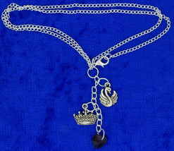 Emma Swan Queen Necklace Once Upon a Time Chain Style Length Choice - $4.99+