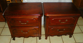 Pair of Cherry Nightstands / End Tables (RP) - $499.00