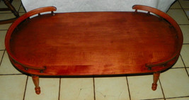 Light Cherry Oval Coffee Table by Heywood Wakefield - $499.00