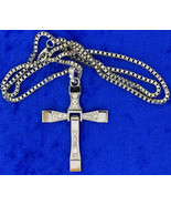 Toretto's Cross Necklace or Keychain Fast and F... - $3.99 - $5.49