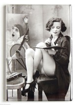 Sexy Woman Painting at Easel FRIDGE MAGNET (2.5... - $7.95