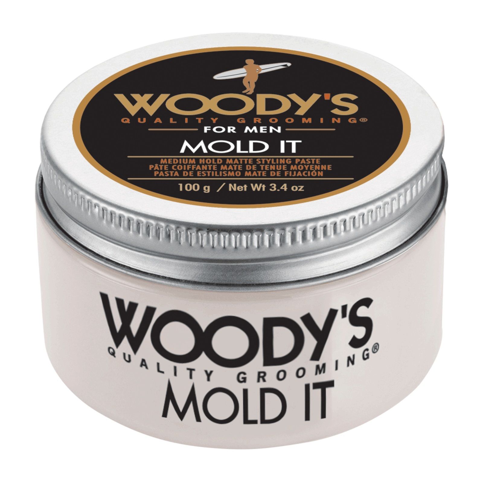 Woody's Mold It Matte Styling Paste 3.4oz image 2