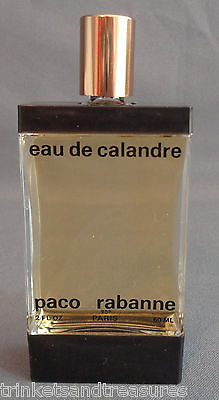 Primary image for Eau de Calandre Fragrance by Paco Rabanne Full 2 Ounce Bottle 60 ml