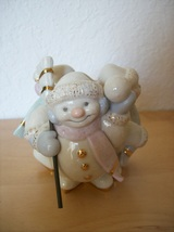 Lenox Skating Snowmen Candle Holder - $25.00