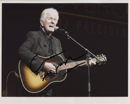 Graham Nash (The Hollies) SIGNED Photo + COA Lifetime Guarantee - $74.99