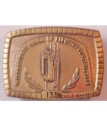 Solid BRASS International Union of Elevators Co... - $24.70