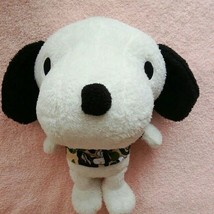 A Bathing Ape x PEANUTS Snoopy Plush Doll Rare From Japan EMS - $602.69
