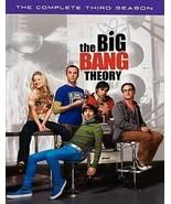 3 DVD The Big Bang Theory Season 3: Galecki Parsons Kaley Cuoco Helberg ... - $7.64