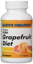 Earth's Creation Natural KLB6 Grapefruit Diet - Helps curb appetite - $15.79