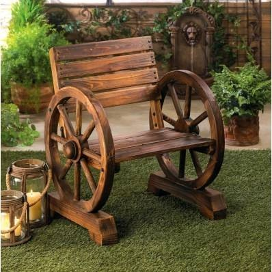 10015793 SHIPS FREE Summerfield Terrace Charming Rustic Wooden Chair