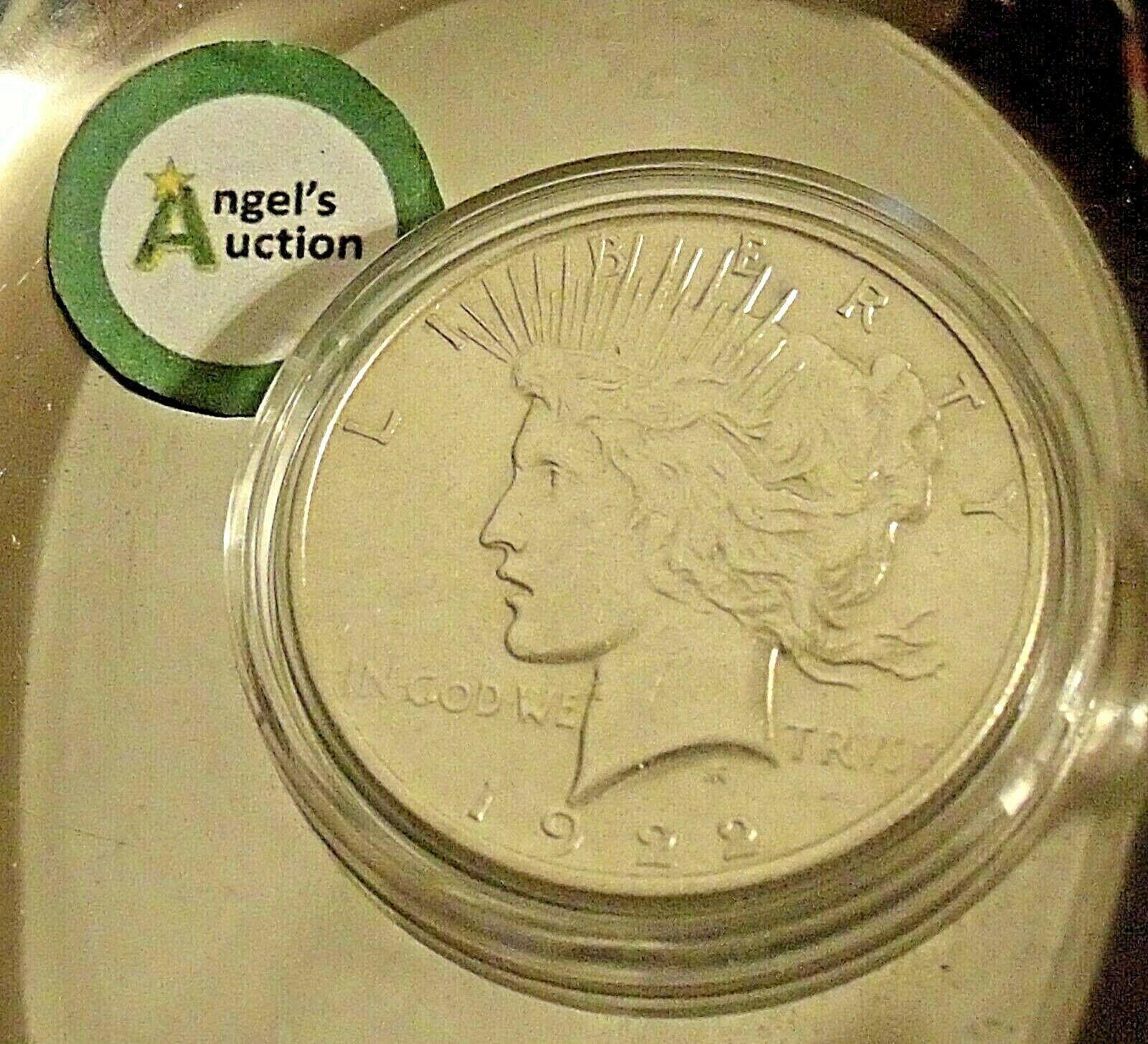 Uncirculated Liberty Peace Silver Dollar 1922 AA20-CND7008