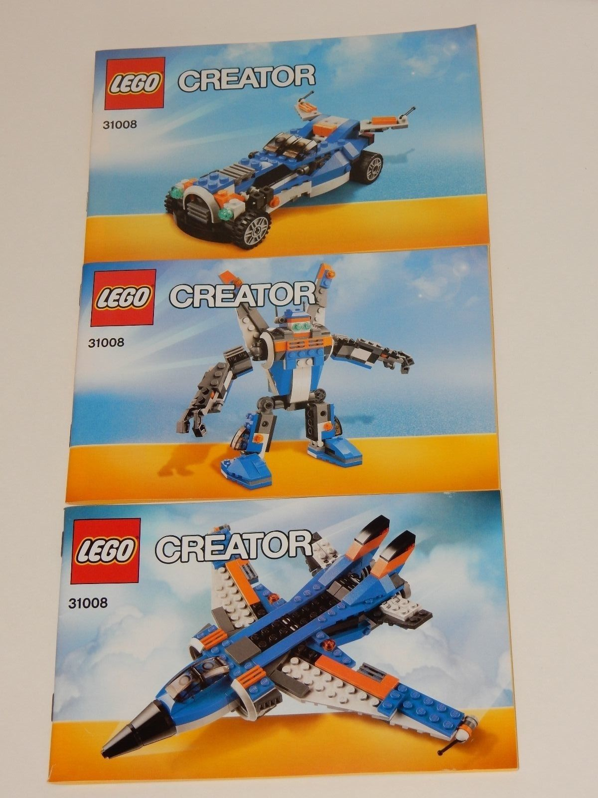 Lego Creator Thunder Wings 31008 And 36 Similar Items