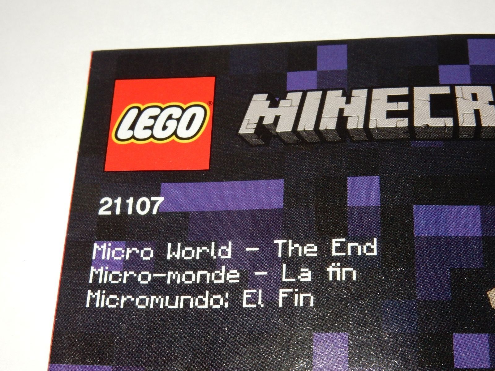 Lego Minecraft 21107 Instruction Manual And Similar Items