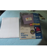 Avery 8163 Ink Jet Shipping Labels Two Sets Used - $9.99