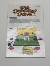2002 1313 Dead End Drive Board Game Instruction Manual Rules Part Only H... - $6.88