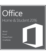 Microsoft Office Home and Student 2016 Key & Download for Windows - $264,65 MXN
