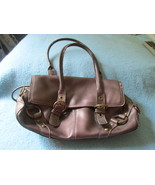 Nine West Used Leather Purse - Used Scratched Mirror - Mild Stained Soft... - $9.99