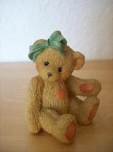 """1991 Cherished Teddies """"Jacki"""" Figurine - $12.00"""