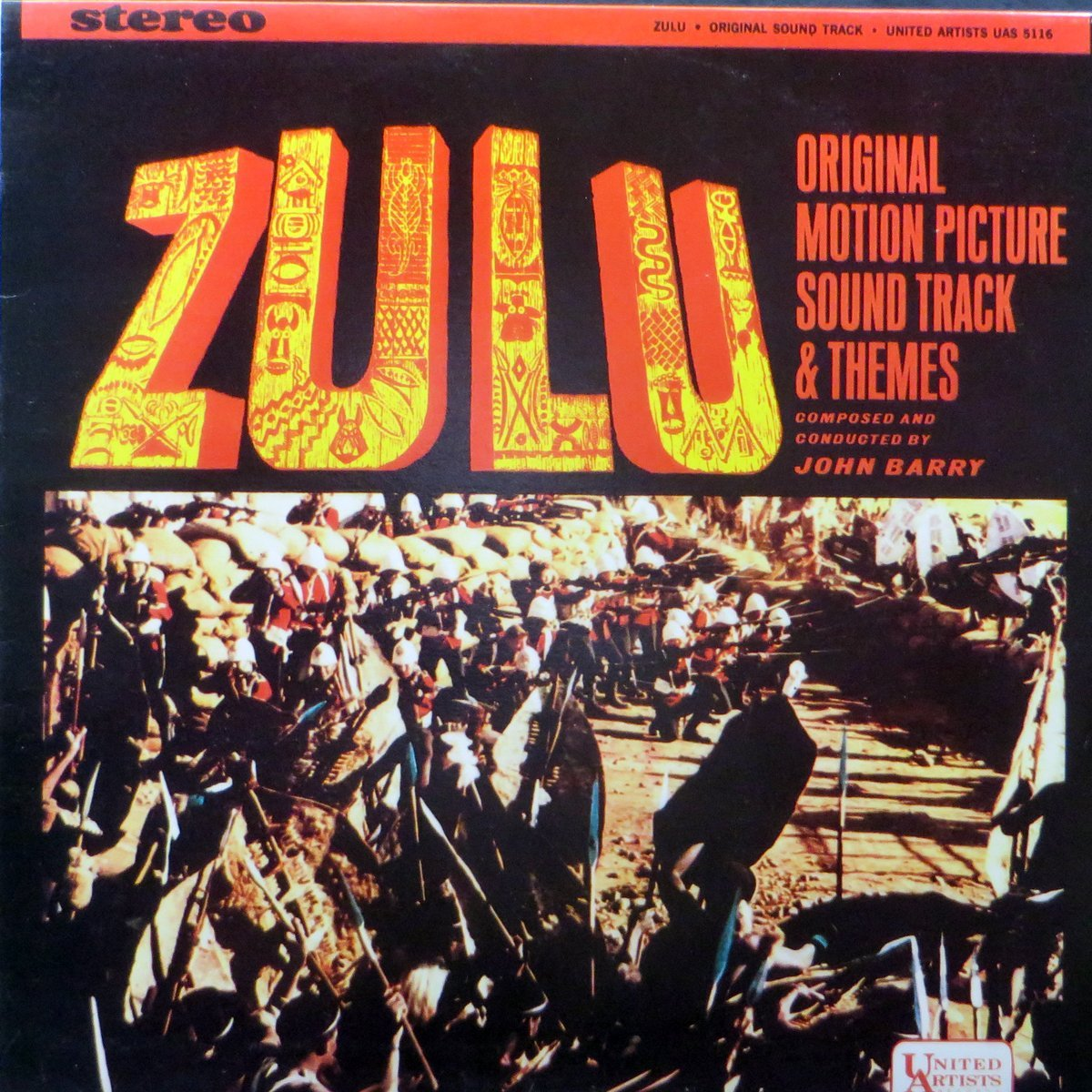 Zulu Original Soundtrack Lp Vinyl 1964 Vinyl John