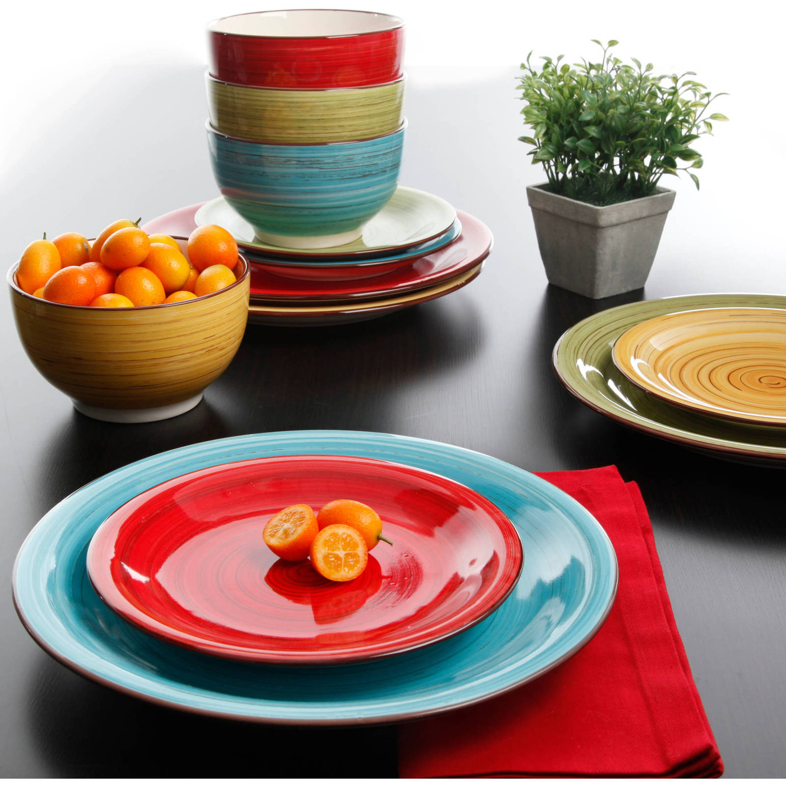 Dinnerware Set Kitchen Dinner Ware Set Service Assorted 12 Round Ceramic Piece - $48.99 · Advanced search for Better Homes Gardens Dinnerware Set : better home and gardens dinnerware - pezcame.com