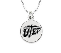 Texas El Paso Miners Sterling Silver Circle Cha... - $39.00
