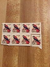 1995 American Kestrel Stamps 7 Hinged 1 Single - $5.00