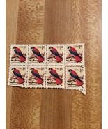 1995 American Kestrel Stamps 7 Hinged 1 Single - $5.00