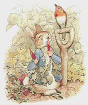 "Counted Cross Stitch  Rabbit by B. potter 14.86"" x 17.71"" - L1142 - $5.50"