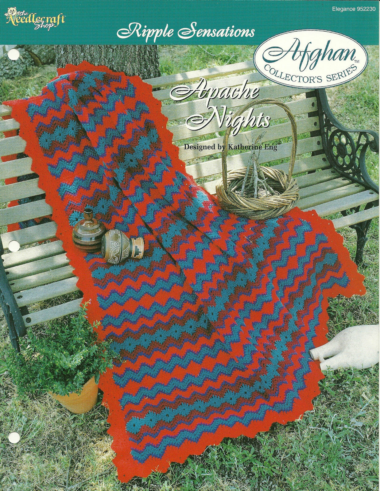 Needlecraft Shop Crochet Pattern 952230 Apache Nights Afghan Collectors Series