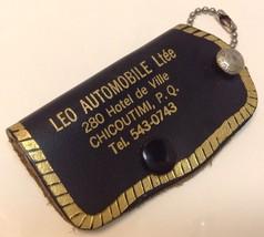 Vintage BOMBARDIER & SKI-DEALER Promo Keychain ... - $9.06