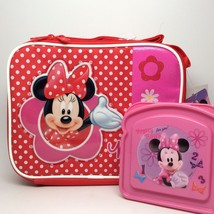 MINNIE MOUSE LUNCHBOX. INCLUDES A SANDWICH BOX! - $14.14